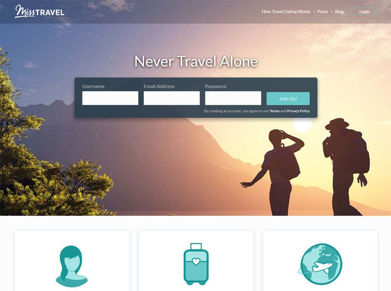 Miss travel travel hookup travel companion site